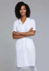 Button Front Dress by Cherokee from Castle Uniforms, Style: WW500-WHT